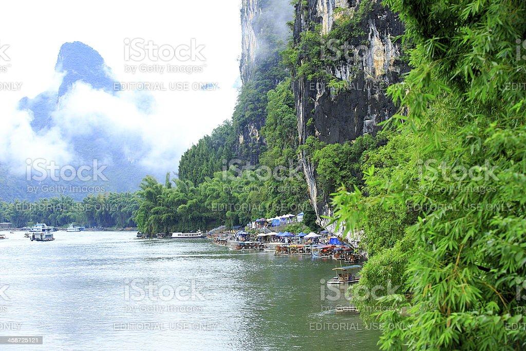 Yangshuo Li River royalty-free stock photo