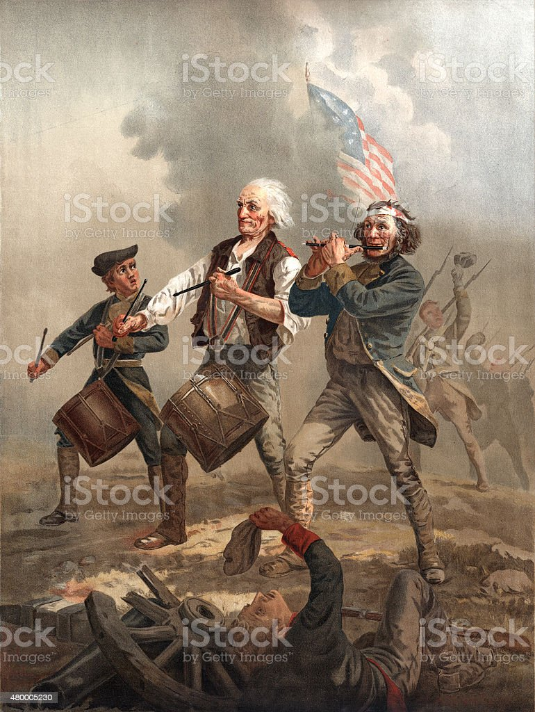 Yankee Doodle Dandy stock photo