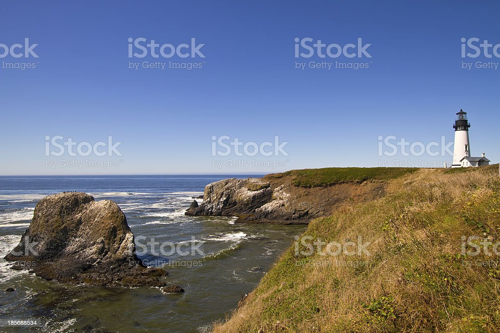 Yaquina Head Lighthouse 4 stock photo