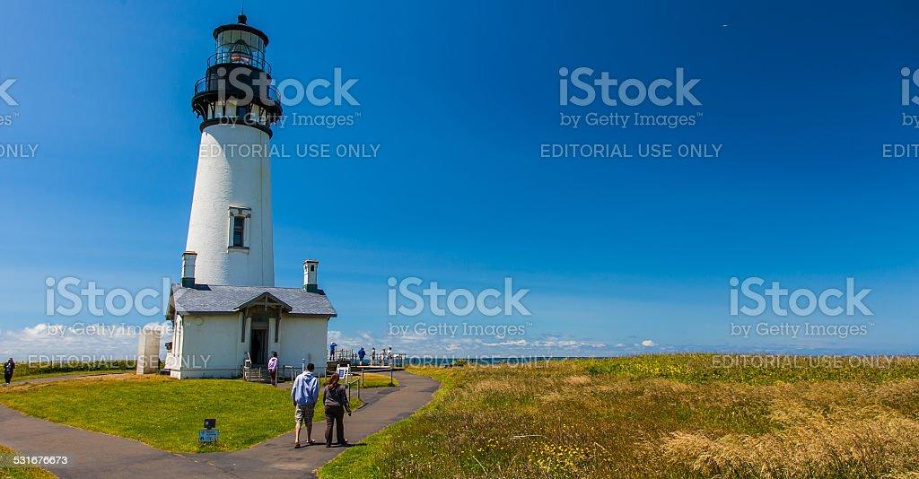 Yaquina Head Lighthouse - Oregon stock photo