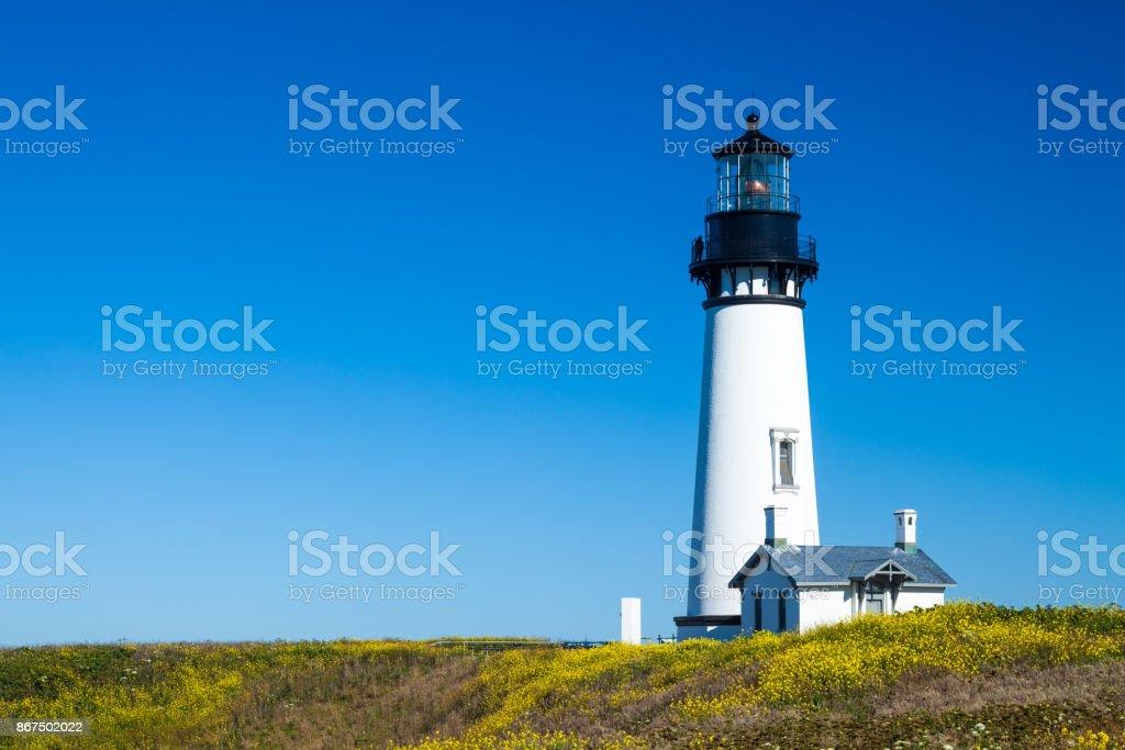 Yaquina Head Lighthouse, Oregon, USA stock photo