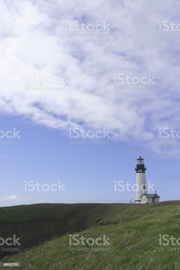 Faro di Yaquina Head foto stock royalty-free