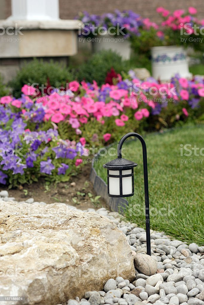Yard Lamp royalty-free stock photo