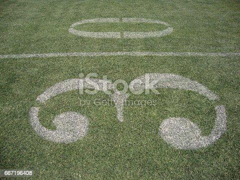 931661614istockphoto 30 yard line 667196408