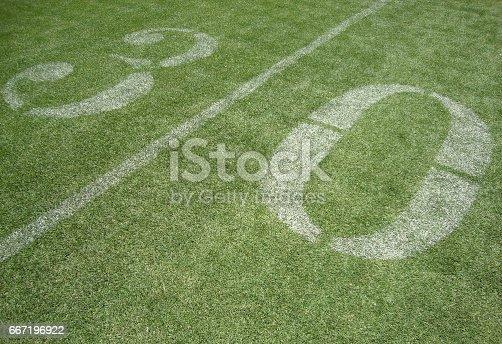 931661614istockphoto 30 yard line 667196922