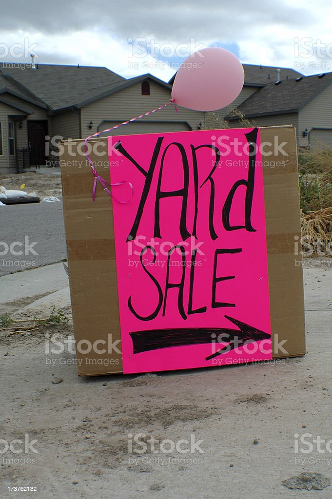 Yard Sale royalty-free stock photo