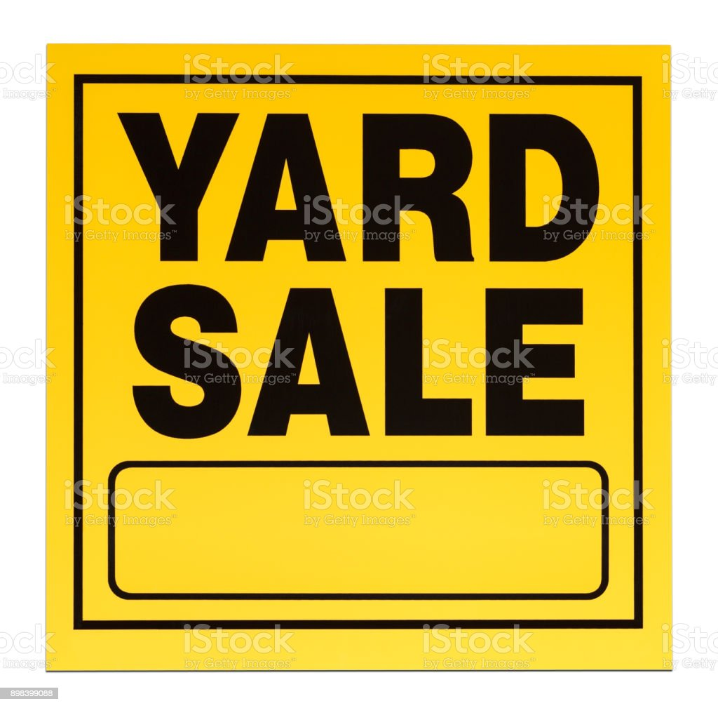 yard vente signe - Photo