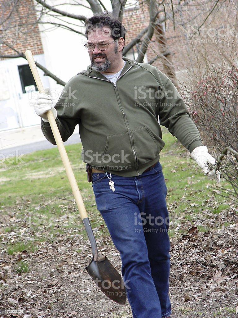 yard work royalty-free stock photo