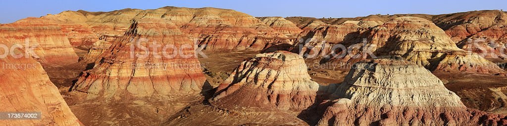 Yardan land formation royalty-free stock photo