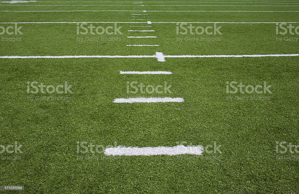 Yards to Go royalty-free stock photo