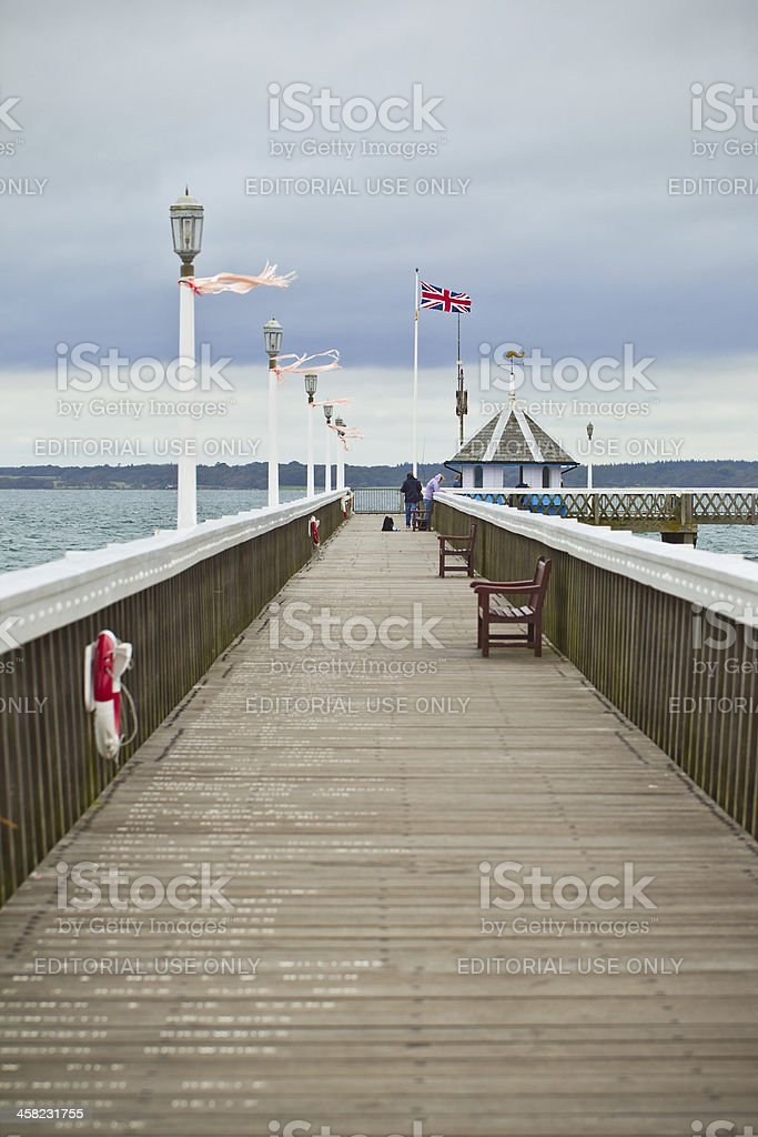 Yarmouth Pier stock photo