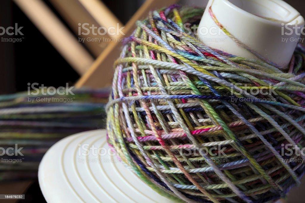 Yarn baller royalty-free stock photo