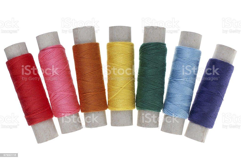 Yarn color royalty-free stock photo
