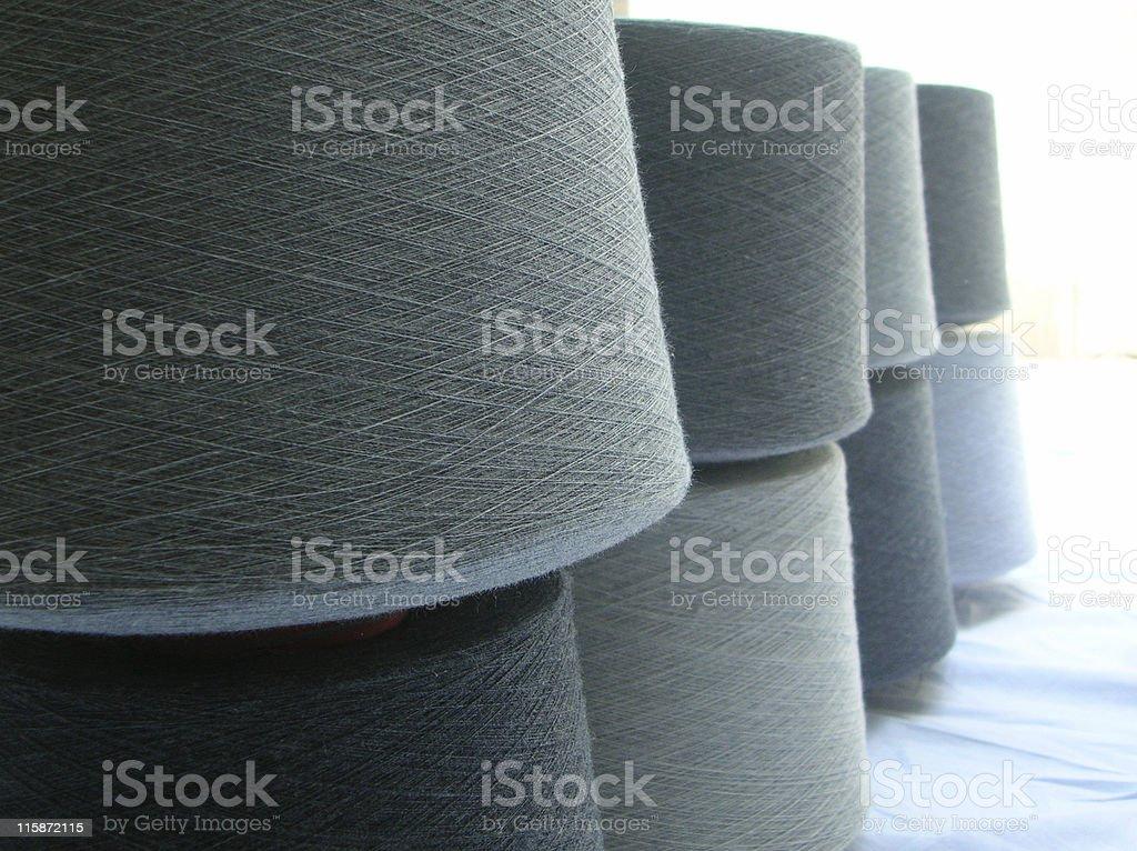Yarn Cone wall royalty-free stock photo