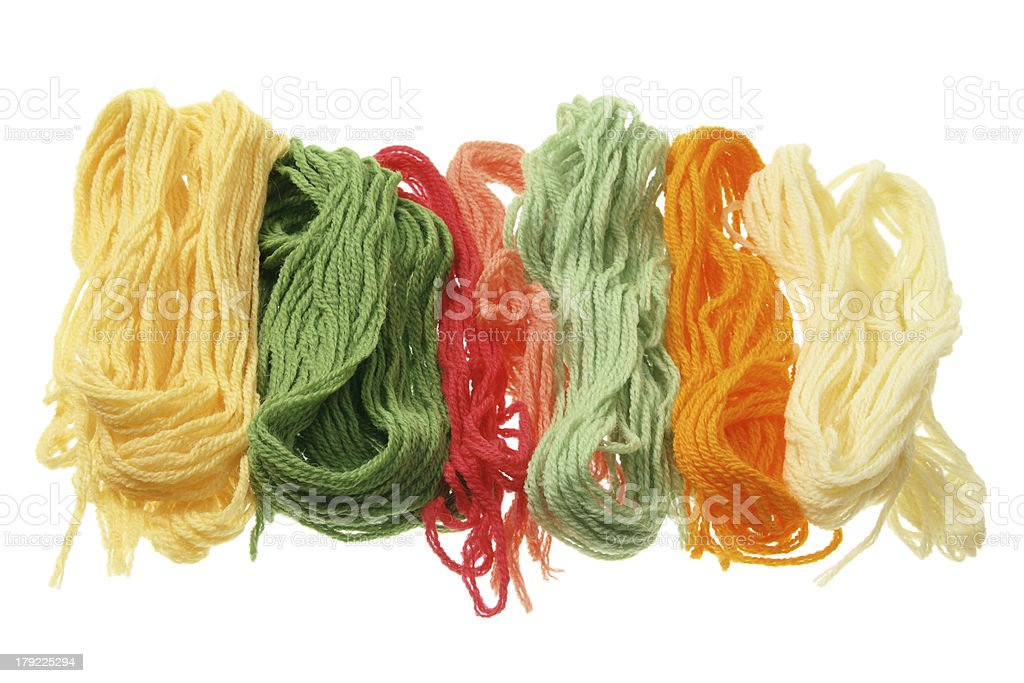 Yarn royalty-free stock photo