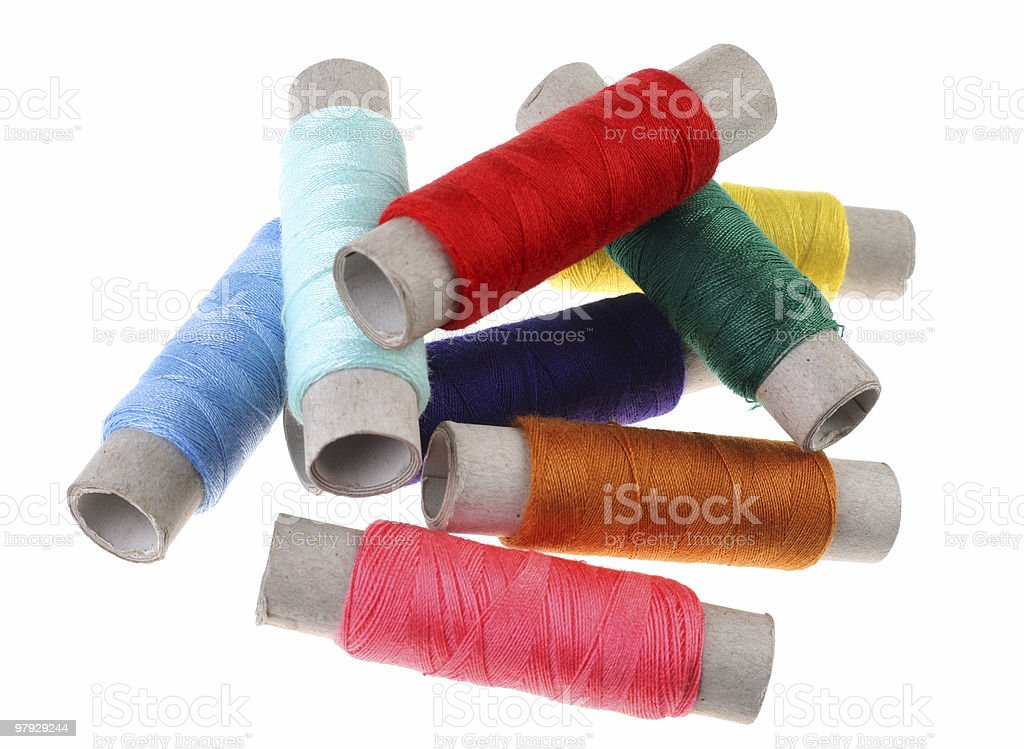 Yarn set royalty-free stock photo