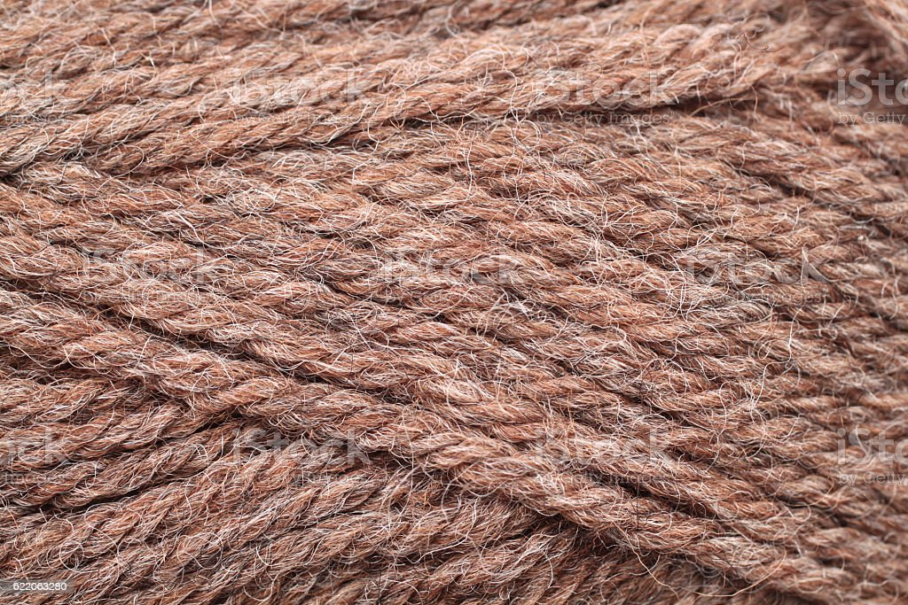 Yarn Texture Close Up stock photo