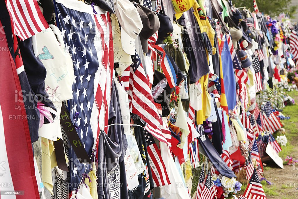 Yarnell 19 Firefighter Memorial Tribute royalty-free stock photo