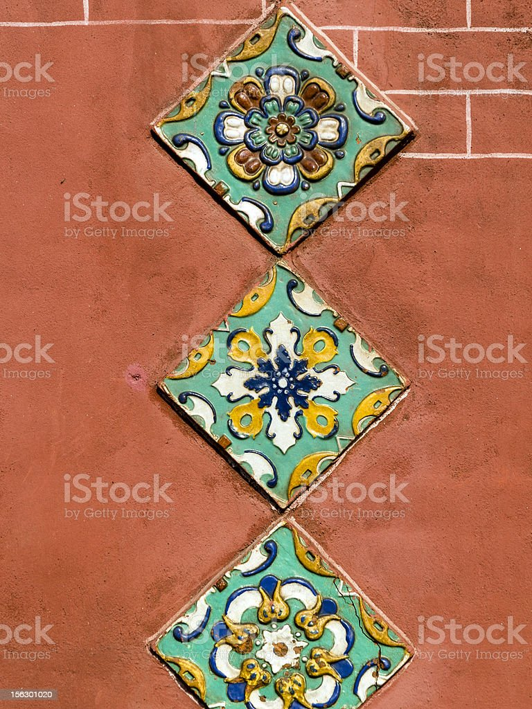 Yaroslavl ceramic royalty-free stock photo