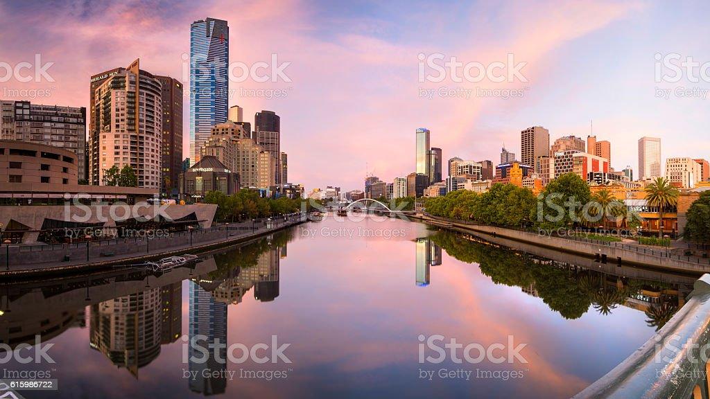 Yarra River stock photo