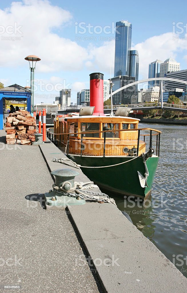 Yarra river royalty-free stock photo