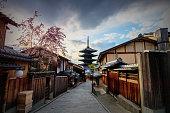 istock Yasaka Pagoda Kyoto, Japan 1031860432