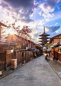 istock Yasaka Pagoda Kyoto, Japan 1031860442
