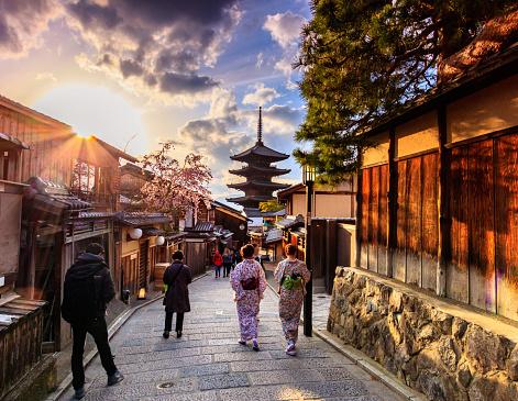 Yasaka Pagoda Kyoto, Japan
