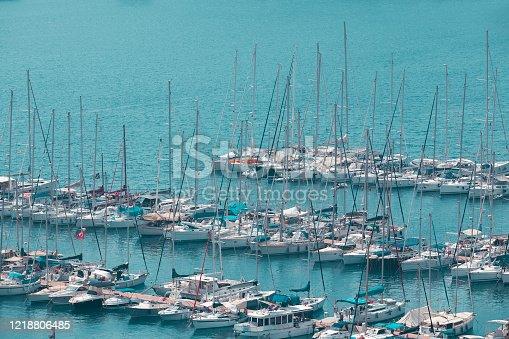 642777700 istock photo Yatch Harbor 1218806485