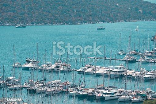 642777700 istock photo Yatch Harbor 1218806486