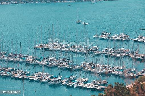 642777700 istock photo Yatch Harbor 1218806487