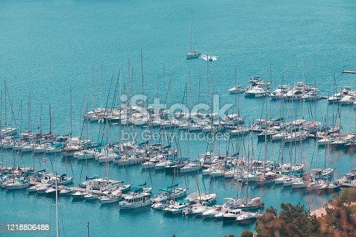 642777700 istock photo Yatch Harbor 1218806488