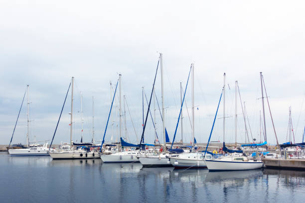 Jachten im Hafen – Foto