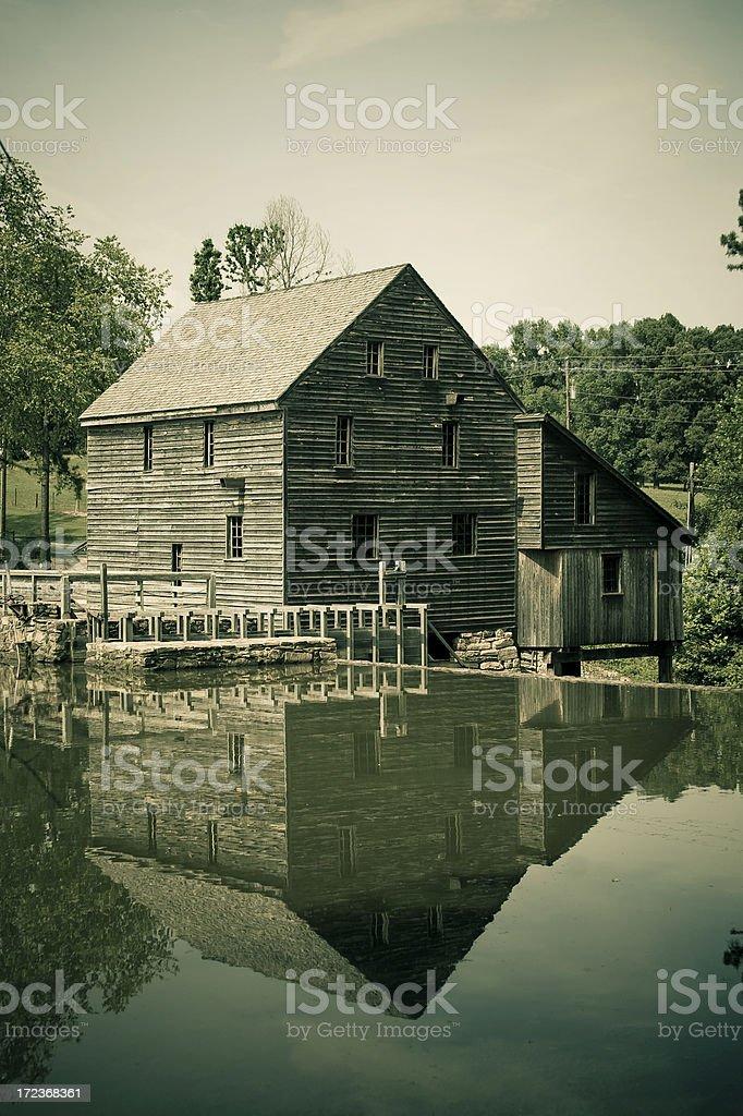 Yates Mill stock photo