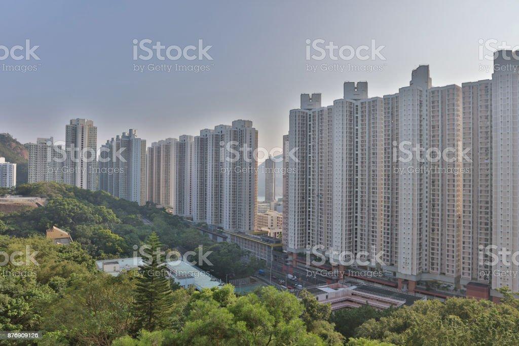 香港油塘公共屋圖像檔