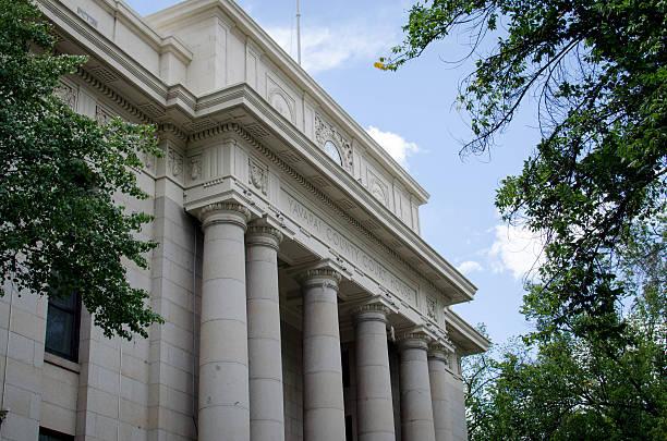 Yavapai County Courthouse in Prescott, Arizona stock photo