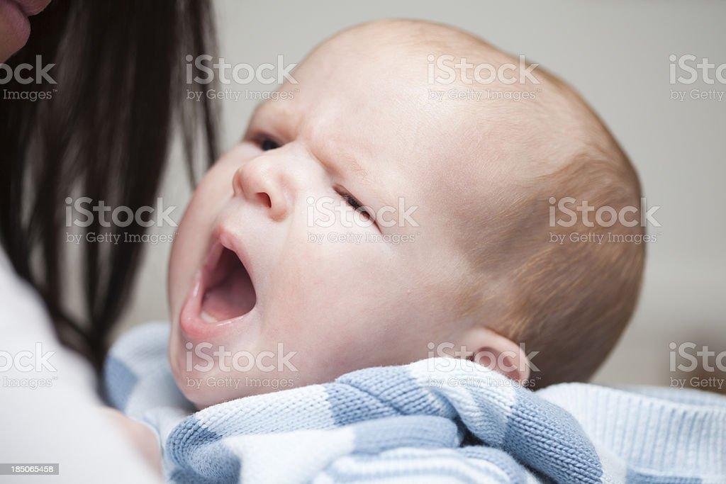 Yawn stock photo