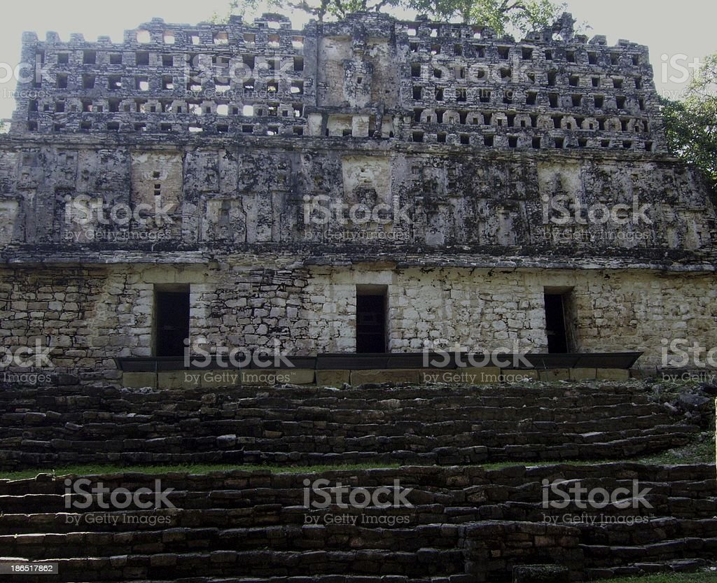Yaxchilan ruins, Chiapas Mexico royalty-free stock photo