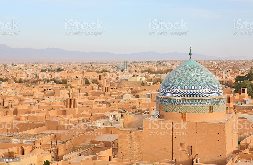Yazd, Iran stock photo