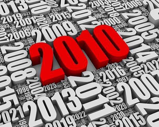 anno 2010 ad - 2010 foto e immagini stock