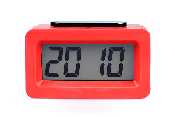 année 2010-xl - calendrier digital journée photos et images de collection
