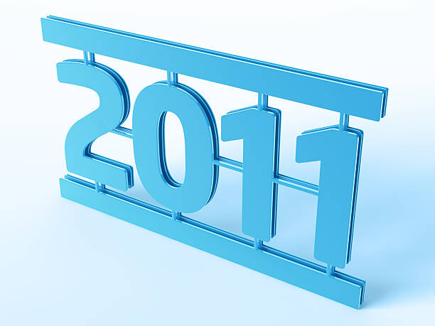 Year 2011 Symbol 3D Render of a blue Year 2011 Symbol (Model Kit Style). Very high resolution available! Use it for Your own composings!Related images: blue 3d business NOT map NOT background stock pictures, royalty-free photos & images