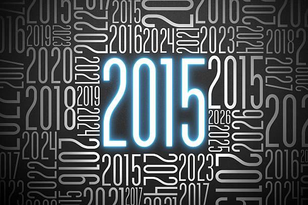 année 2015 et le futur - 2015 photos et images de collection