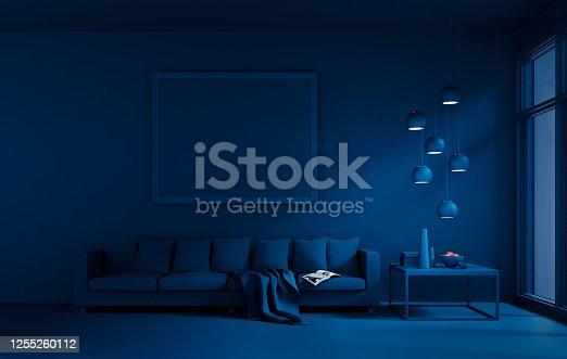 istock Year 2020 Classic Blue Interior 1255260112