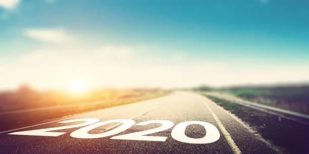 2020 jahr hintergrund - 2020 stock-fotos und bilder