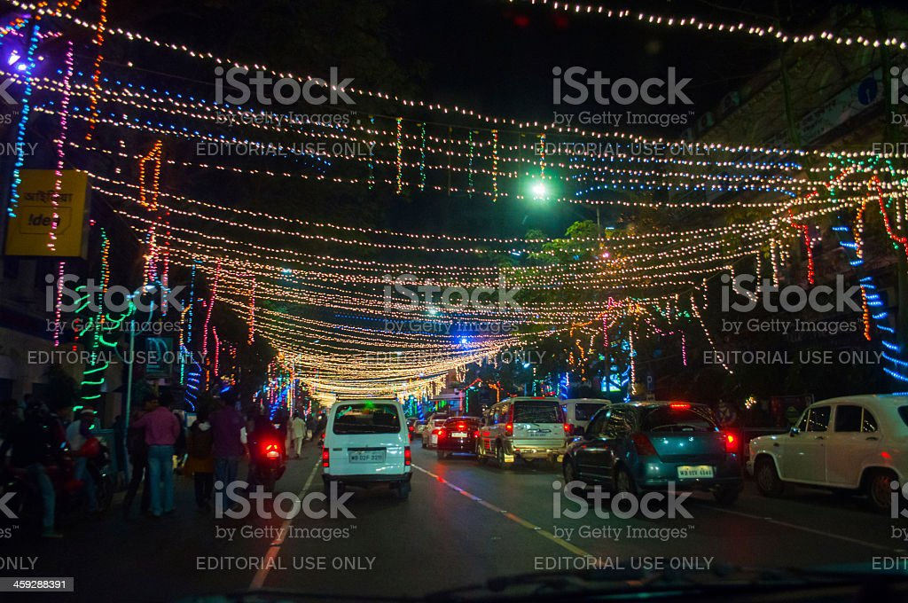 Year end and New Year's Eve celebration stock photo
