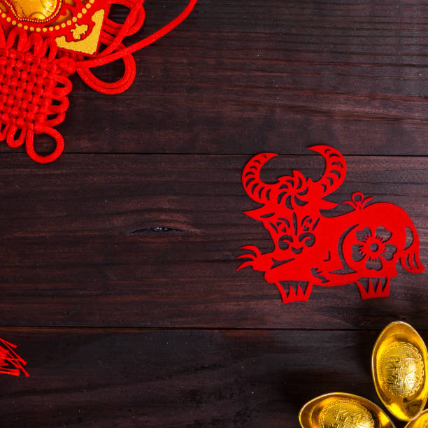 Année du boeuf dans zodiaque chinois - Photo