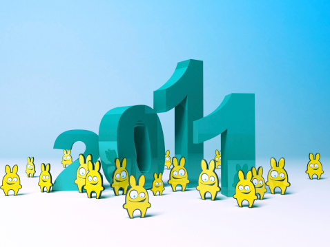 Year Of Rabbit 2011 Stock Photo - Download Image Now