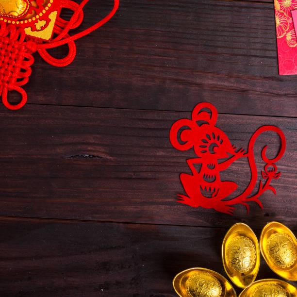 Année du Rat dans zodiaque chinois - Photo
