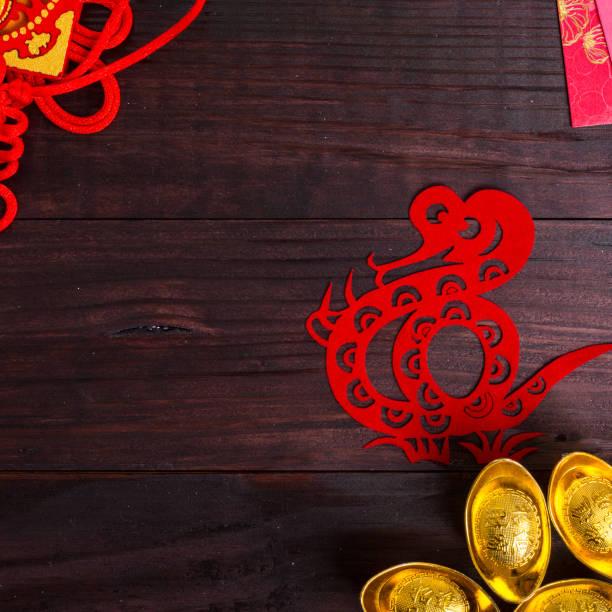 Année du serpent dans le zodiaque chinois - Photo